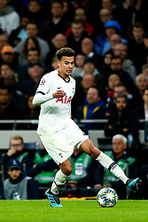 Dele Alli of Tottenham Hotspur - Rogan/JMP - 01/10/2019 - FOOTBALL - Tottenham Hotspur Stadium - London, England - Tottenham Hotspur v Bayern Munich - UEFA Champions League Group B.