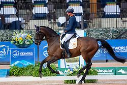 Hosmar Frank, NED, Alphaville NOP<br /> World Equestrian Games - Tryon 2018<br /> © Hippo Foto - Sharon Vandeput<br /> 18/09/2018