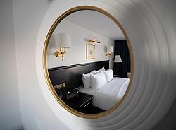 Queen Elizabeth 2 former ocean liner now reopened as hotel in Dubai , United Arab Emirates