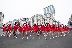 © Licensed to London News Pictures. 01/01/2020. London, UK. Performers take part in the annual New Year's Day Parade. Photo credit: Ray Tang/LNP