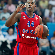 CSKA Moscow's Jamont Gordon during their Euroleague Final Four semi final Game 1 basketball match CSKA Moscow's between Panathinaikos at the Sinan Erdem Arena in Istanbul at Turkey on Friday, May, 11, 2012. Photo by TURKPIX