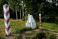 Trójstyk granic Wisztyniec na Suwalszczyźnie