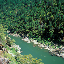 BLM Medford District, OR.Rogue River. Siskiyou Mountains. From Rogue River Trail. June.