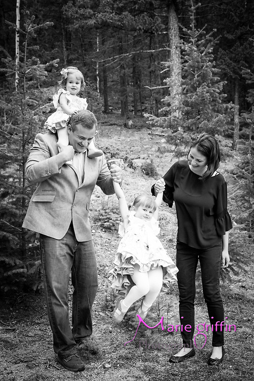 Farrington family photos at their home in Fairplay, CO on May 12, 2018. Scarlett  Farington one year portrait.<br /> Photography by: Marie Griffin Dennis/Marie Griffin Photography<br /> mariegriffinphotography.com<br /> mariefgriffin{@}gmail.com