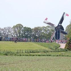 07-05-2016: Wielrennen: Giro: NijmegenNIJMEGEN (NED) wielrennen Tussen Arnhem en Nijmegen reden de renners de eerste etappe van de 99e Giro Italia.