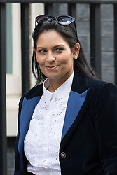 © Licensed to London News Pictures. 28/02/2017. LONDON, UK.  Secretary of State for International Development, Priti Patel arrives for a cabinet meeting at 10 Downing Street.  Photo credit: Vickie Flores/LNP