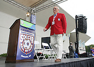 26 August 2007: Hall of Famer Lloyd Monsen. The National Soccer Hall of Fame Induction Ceremony was held at the National Soccer Hall of Fame in Oneonta, New York.