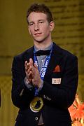 Officiele Huldiging van de Olympische medaillewinnaars Sochi 2014 / Official Ceremony of the Sochi 2014 Olympic medalists.<br /> <br /> Op de foto:  Jan Blokhuijsen