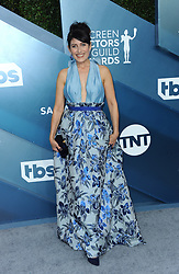Lisa Edelstein at the 26th Annual Screen Actors Guild Awards held at the Shrine Auditorium in Los Angeles, USA on January 19, 2020.