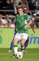 Fotball<br /> VM-kvalifisering<br /> Irland v Frankrike<br /> 07.09.2005<br /> Foto: Dppi/Digitalsport<br /> NORWAY ONLY<br /> <br /> KENNY CUNNINGHAM (IRE)