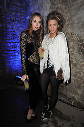 Left to right, ANOUSHKA BECKWITH and ROSE LANGLEY at the launch of 2 collections by jeweller Stephen Webster - ÔThe 7 Deadly SinsÕ and ÔNo RegretsÕ held at The Old Vics Tunnels, Under Waterloo Station, Off Leake Street, London SE1 on 8th December 2010.<br /> Left to right, ANOUSHKA BECKWITH and ROSE LANGLEY at the launch of 2 collections by jeweller Stephen Webster - 'The 7 Deadly Sins' and 'No Regrets' held at The Old Vics Tunnels, Under Waterloo Station, Off Leake Street, London SE1 on 8th December 2010.