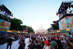 08.06.2019, Rathaus, Wien, AUT, Life Ball im Bild Uebersicht ueber den Rathausplatz // during the Life Ball at the Rathaus in Wien, Austria on 2019/06/08. EXPA Pictures © 2019, PhotoCredit: EXPA/ Florian Schroetter