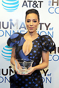New York, NY-March 15: Angela Rye (Honoree), President, Impact Strategies attends the 2018 'Humanity of Connection' Awards Ceremony powered by AT&T and held at Jazz at Lincoln Center on March 15, 2018 in New York City. (Photo by Terrence Jennings/terrencejennings.com)