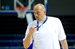 Head coach Rosen Barchovski at practice session of Bularian National basketball team 1 day before Eurobasket Lithuania 2011, on August 29, 2011, in Arena Svyturio, Klaipeda, Lithuania. (Photo by Vid Ponikvar / Sportida)