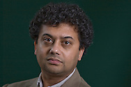 Indian writer Neel Mukherjee, pictured at the Edinburgh International Book Festival where he talked about his debut novel entitled 'A Life Apart'. The three-week event is the world's biggest literary festival and is held during the annual Edinburgh Festival. The 2011 event featured talks and presentations by more than 500 authors from around the world..