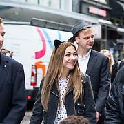 NLD/Amsterdam/20140405 - Filmpremiere Pim & Pom, Georgina Verbaan