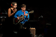 Annie Sellick and Pat Bergeson perform at in the Jazz Cave of the Nashville Jazz Workshop on Valentine's Day 2014.