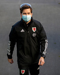 DUBLIN, REPUBLIC OF IRELAND - Sunday, October 11, 2020: Wales' Doctor Rhodri Martin before the UEFA Nations League Group Stage League B Group 4 match between Republic of Ireland and Wales at the Aviva Stadium. The game ended in a 0-0 draw. (Pic by David Rawcliffe/Propaganda)