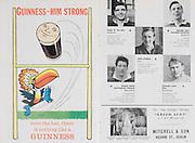 Irish Rugby Football Union, Ireland v Scotland, Five Nations, Landsdowne Road, Dublin, Ireland, Saturday 24th February, 1962,.24.2.1962, 2.24.1962,..Referee- N M Parkes, Rugby Football Union, ..Score- Ireland 6 - 20 Scotland, ..Irish Team, ..F G Gilpin, Wearing number 15 Irish jersey, Full Back, Queens University Rugby Football Club, Belfast, Northern Ireland,..W R Hunter, Wearing number 14 Irish jersey, Right Wing, C I Y M S Rugby Football Club, Belfast, Northern Ireland, ..M K Flynn, Wearing number 13 Irish jersey, Right Centre, Wanderers Rugby Football Club, Dublin, Ireland, ..D Hewitt, Wearing number 12 Irish jersey, Left centre, Instonians Rugby Football Club, Belfast, Northern Ireland,..N H Brophy, Wearing number 11 Irish jersey, Left wing, Blackrock College Rugby Football Club, Dublin, Ireland, ..G G Hardy, Wearing  Number 10 Irish jersey, Stand Off, Bective Rangers Rugby Football Club, Dublin, Ireland,  ..J T M Quirke, Wearing number 9 Irish jersey, Scrum Centre, Blackrock College Rugby Football Club, Dublin, Ireland, ..S Millar, Wearing number 1 Irish jersey, Forward, Ballymena Rugby Football Club, Antrim, Northern Ireland,..A R Dawson, Wearing number 2 Irish jersey, Forward, Wanderers Rugby Football Club, Dublin, Ireland, ..R J McLoughlin, Wearing number 3 Irish jersey, Forward, University College Dublin Rugby Football Club, Dublin, Ireland, ..W A Mulcahy, Wearing number 4 Irish jersey, Captain of the Irish team, Forward, Bohemians Rugby Football Club, Limerick, Ireland,..W J McBride, Wearing number 5 Irish jersey, Forward, Ballymena Rugby Football Club, Antrim, Northern Ireland,..D Scott, Wearing number 6 Irish jersey, Forward, Malone Rugby Football Club, Belfast, Northern Ireland, ..M L Hipwell, Wearing number 8 Irish jersey, Forward, Terenure Rugby Football Club, Dublin, Ireland, ..M G Culliton, Wearing number 7 Irish jersey, Forward, Wanderers Rugby Football Club, Dublin, Ireland, ..Scottish Team, ..K J F Scotland, Wearing number 15 Scottish jersey,  F