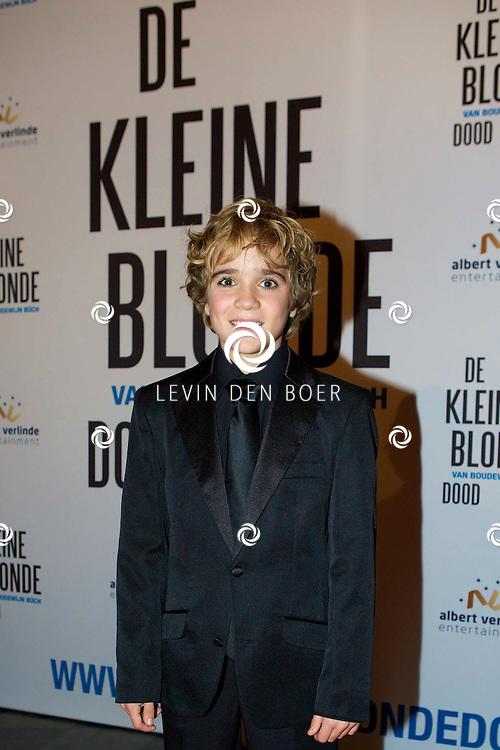 DEN HAAG - De premiere van 'De Kleine Blonde Dood'. Met hier op de foto  Davy Gomez. FOTO LEVIN DEN BOER - PERSFOTO.NU
