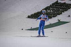 28.02.2021, Oberstdorf, GER, FIS Weltmeisterschaften Ski Nordisch, Oberstdorf 2021, Mixed Teambewerb, Skisprung HS106, im Bild Halvor Egner Granerud (NOR) // Halvor Egner Granerud (NOR) during the ski jumping HS106 mixed team competition of FIS Nordic Ski World Championships 2021 in Oberstdorf, Germany on 2021/02/28. EXPA Pictures © 2021, PhotoCredit: EXPA/ Tadeusz Mieczynski