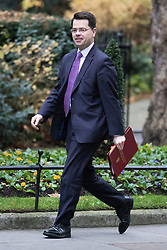 © Licensed to London News Pictures. 05/12/2017. London, UK. Secretary of State for Northern Ireland James Brokenshire arrives on Downing Street for the weekly Cabinet meeting. Photo credit: Rob Pinney/LNP