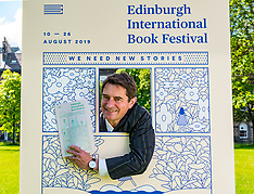 International Book Festival Launch, Edinburgh, 6 June 2019