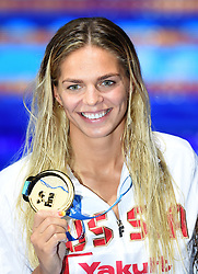 Yuliya Efimova of Russia wins the 200 breast - 17th FINA Aquatics World Championships held in Budapest, Hungary on July 28, 2017. Photo by Giuliano Bevilacqua/ABACAPRESS.COM