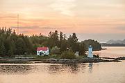 Bella Bella, B.C. Canada - Dryad Point Lighthouse