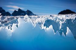Lillehööksbreen glacier at Svalbard