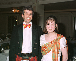 LADY IONA HAY and the HON.HUMPHREY DRUMMOND, at a ball in London on May 1st 1997.LYB 110