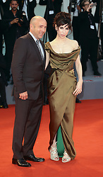 Sally Hawkins and Matthew Greenfield  walks the red carpet ahead of the 'The Shape Of Water' screening during the 74th Venice Film Festival in Venice, Italy, on August 31, 2017. (Photo by Matteo Chinellato/NurPhoto/Sipa USA)