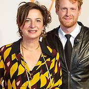 NLD/Katwijk/20151030 - 5 Jarig jubileumvoostelling musical Soldaat van Oranje, Jaqueline Blom en Reinier Demeijer
