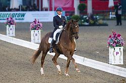 Henriette Andersen, (GBR), Warlocks Charm <br /> CDI3* Grand Prix <br /> Royal Windsor Horse Show - Windsor 2015<br /> © Hippo Foto - Jon Stroud