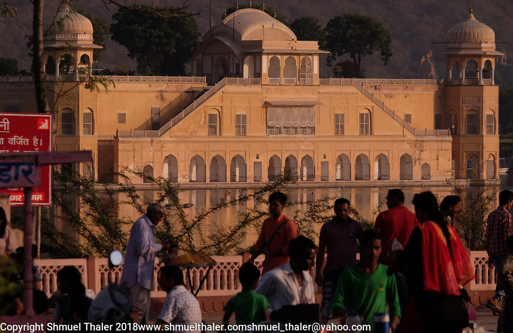 Water Palace, Jaipur, India.<br /> Photo by Shmuel Thaler <br /> shmuel_thaler@yahoo.com www.shmuelthaler.com