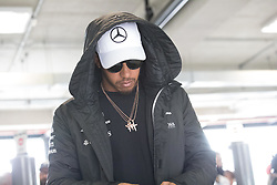 November 11, 2017 - Sao Paulo, Sao Paulo, Brazil - 44 LEWIS HAMILTON, of Mercedes AMG Petronas during the preparation for the free practice for the Formula One Grand Prix of Brazil at Interlagos circuit, in Sao Paulo, Brazil. The grand prix will be celebrated next Sunday, November 12. (Credit Image: © Paulo Lopes via ZUMA Wire)