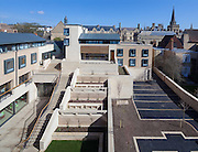 The Harold H W Lee Building & The Rokos Quad. Pembroke College, New Build on completion March 2013. Oxford, UK