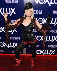 December 5, 2018 - Hollywood, California, USA - KATE CRASH attends the premiere of Neon's 'Vox Lux' at ArcLight Hollywood in Los Angeles, California. (Credit Image: © Billy Bennight/ZUMA Wire)