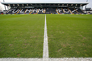 General stadium view inside Craven Cottage before The FA Cup 3rd round match between Fulham and Oldham Athletic at Craven Cottage, London, England on 6 January 2019.