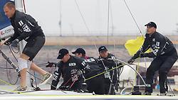 Berntsson Sailing Team. Korea Match Cup 2010. World Match Racing Tour. Gyeonggi, Korea. 12th June 2010. Photo: Ian Roman/Subzero Images.