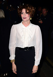 Anna Chancellor arriving at the London Evening Standard Theatre Awards in London, Sunday, 17th November 2013. Picture by Nils Jorgensen / i-Images