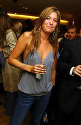 MISS AMANDA SHEPPARD at a party hosted by Burberry to launch their special collection in aid of Breakthrough Breast Cancer, held at 21-23 New Bond Street, London W1 on 5th October 2004.<br /><br />NON EXCLUSIVE - WORLD RIGHTS