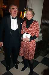 MR & MRS MICHAEL MATES MP at the annual House of Lords and House of Commons Parliamentary Palace of Varieties in aid of Macmillan Cancer Support held at St.John's Smith Square, London W1 on 1st February 2007.<br /><br />NON EXCLUSIVE - WORLD RIGHTS