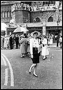 Suzanna Constantine at the Duke & duchess of York wedding. Westminster Abbey. July 1986<br /> © Copyright Photograph by Dafydd Jones<br /> 66 Stockwell Park Rd. London SW9 0DA<br /> Tel 0171 733 0108 dafjones.com