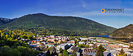 Panoramic of Nelson, British Columbia, Canada