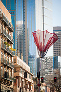 2018 FEBRUARY 12 - Angie's Umbrella Sculpture, Seattle, WA, USA. By Richard Walker