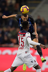 February 3, 2019 - Milan, Milan, Italy - Ivan Perisic #44 of FC Internazionale Milano in action during the serie A match between FC Internazionale and Bologna FC at Stadio Giuseppe Meazza on February 3, 2019 in Milan, Italy. (Credit Image: © Giuseppe Cottini/NurPhoto via ZUMA Press)