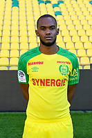 Wilfried Moimbe during photoshooting of Fc Nantes for new season 2017/2018 on September 18, 2017 in Nantes, France. (Photo by Philippe Le Brech/Icon Sport)