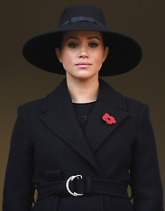 The Royal Family attend the Remembrance Sunday Service - 10 Nov 2019