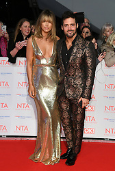Vogue Williams and Spencer Matthews attending the National Television Awards 2018 held at the O2, London. Photo credit should read: Doug Peters/EMPICS Entertainment